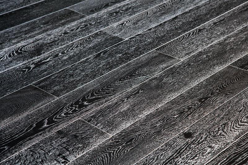 Ламинат черно белый фото